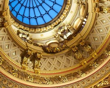 Ceiling of the Fitzwilliam Museum